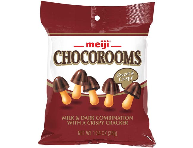 Chocorooms - Milk and Dark with Crispy Cracker, 1.34 Ounce -- 32 per case.