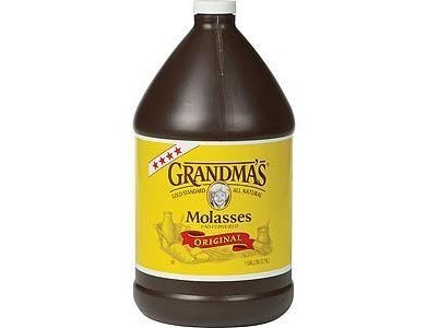 Grandmas Unsulphured Baking Molasses, 1 Gallon -- 4 per case