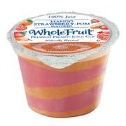 Whole Fruit Premium Mango Strawberry Pomegranate Juice, 4.4 Fluid Ounce -- 96 per case.