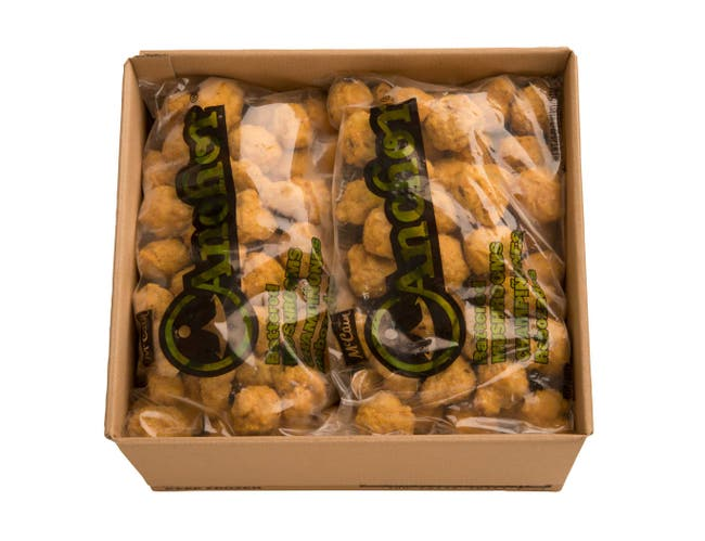 McCain Anchor Battered Mushroom - Appetizer, 2.5 Pound -- 6 per case.