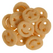 McCain Ore Ida Smiles Fun Shaped Mashed Potato, 4 Pound -- 6 per case.