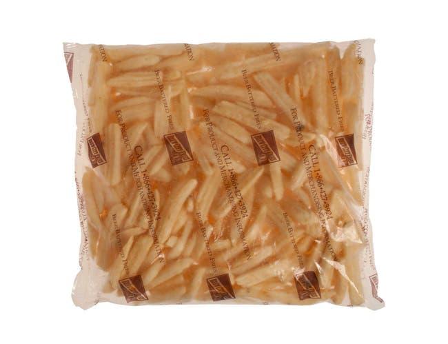 McCain Brew City Bottle Neck Ridge Cut French Fry, 5 Pound -- 6 per case.