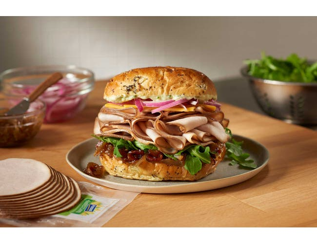 Perdue Farms Sandwich Builders Sliced Oven Roasted Turkey Breast, 2 Pound -- 6 per case.