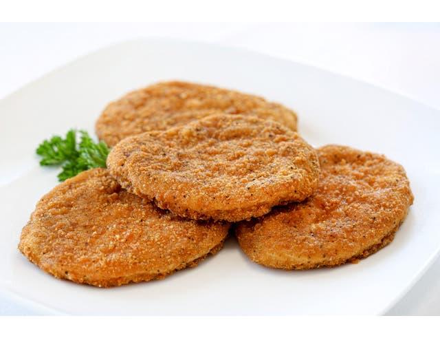 Perdue Farms Breaded Chicken Breast Patties, 5 Pound -- 2 per case.