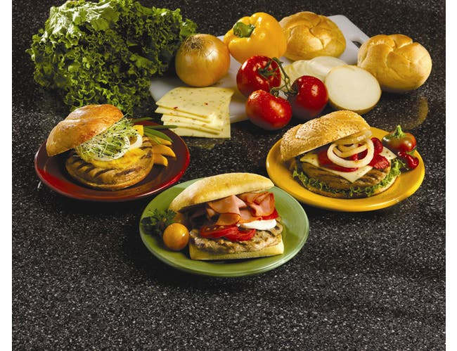 Perdue Farms Ready to Cook Zest - T Flavor Homestyle White Meat Turkey Burger, 5.33 Ounce Patty -- 30 per case.