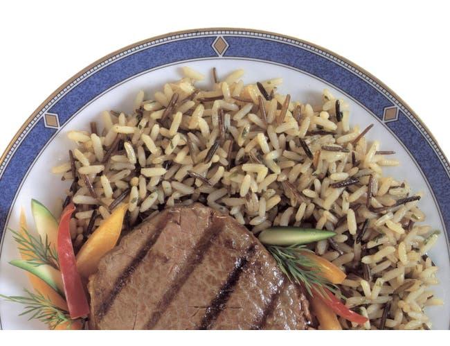 Rice Long Grain & Wild -- 6 Case 36 Ounce