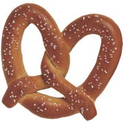 J and J Snack Super King Size Soft Pretzel -- 50 per case.