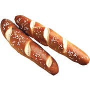 J and J Snack Special Print Bavarian Pretzel Stick, 2.4 Ounce -- 72 per case.