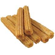 J and J Snack Tio Pepes Cinnamon Sugar Churro -- 100 per case.