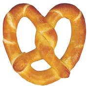 J and J Snack Original Twist Gourmet Soft Pretzel, 6 Ounce -- 24 per case.