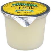 Luigis No Sugar Added Lemon Intermezzo, 4 Fluid Ounce -- 72 per case.