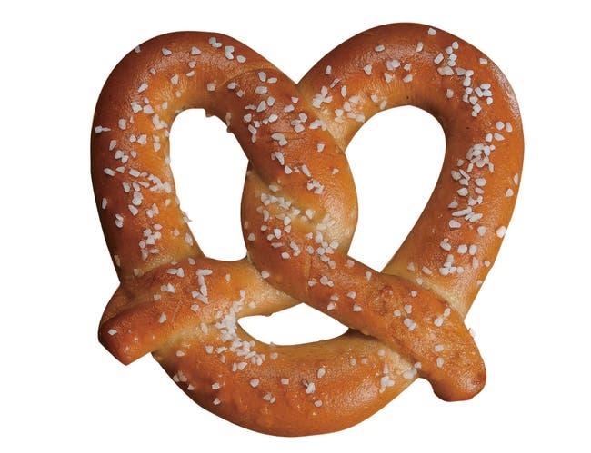SuperPretzel 51 Percent Whole Grain Bake Soft Pretzel, 2.2 Ounce -- 120 per case.