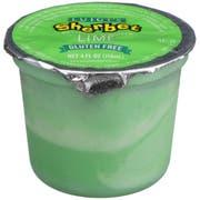 Luigis Lime Sherbet Cup, 4 Ounce -- 96 per case.