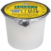 Luigis Lemon Italian Ice Cup, 4 Ounce -- 48 per case