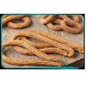 J and J Snacks California Churros Small Loop Pre Fried Churros, 60 Gram -- 250 per case
