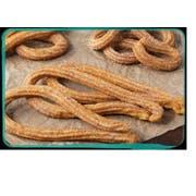 J and J Snacks California Churros Large Loop Pre Fried Churros, 52 Gram -- 60 per case