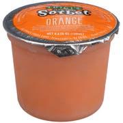 Luigi's No Sugar Added Orange Sorbet Cup, 4.4 Fluid Ounce -- 96 per case