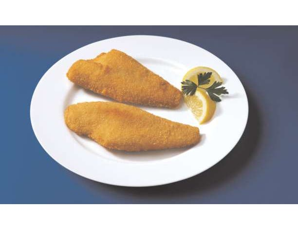 Japanese Bread Crumb Crispy Style Raw Natural Flounder Fillet, 4 to 5 Ounce of 32-42 Pieces, 10 Pound -- 1 each.