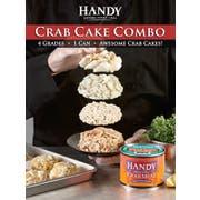Handy Pelagicus Crab Cake Combo Pasteurized Crab Meat, 1 Pound -- 6 per case.