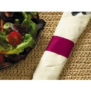 Hoffmaster Burgundy Paper Napkin Band, 4.25 x 1.5 inch -- 5000 per case.
