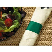 Hoffmaster Hunter Green Paper Napkin Band, 4.25 x 1.5 inch -- 5000 per case.