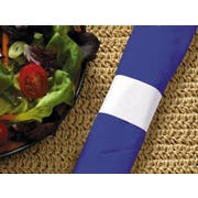Hoffmaster White Paper Napkin Band, 1.5 x 4.25 inch -- 20000 per case.