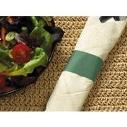 Hoffmaster Green Paper Napkin Band, 1.5 x 4.25 inch -- 20000 per case.
