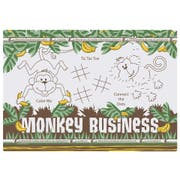Hoffmaster Two Sided Monkey Business Paper Activity Placemat, 9.75 x 14 inch -- 1000 per case.