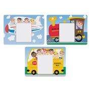 Hoffmaster 3 Designs Kids Menu Paper Placemat, 8.5 x 11.625 inch -- 1002 per case.