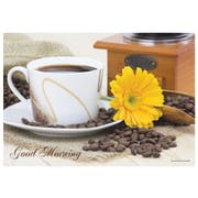Hoffmaster Morning Coffee Paper Placemat, 9.75 x 14 inch -- 1000 per case.