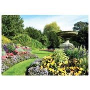 Hoffmaster English Garden Paper Placemat, 9.75 x 14 inch -- 1000 per case.