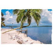 Hoffmaster Gulf View Paper Placemat, 9.75 x 14 inch -- 1000 per case.