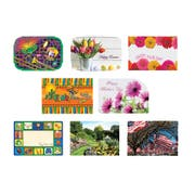 Hoffmaster Spring Seasonal Occasions Paper Placemat, 9.75 x 14 inch -- 1000 per case.