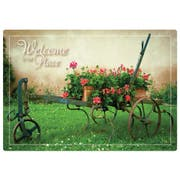 Hoffmaster Welcome to Our Place Placemat, 9.75 x 14 inch -- 1000 per case.