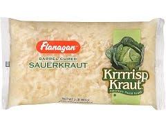Krrrrisp Sauerkraut - 2 lb. poly bag, 12 bags per case
