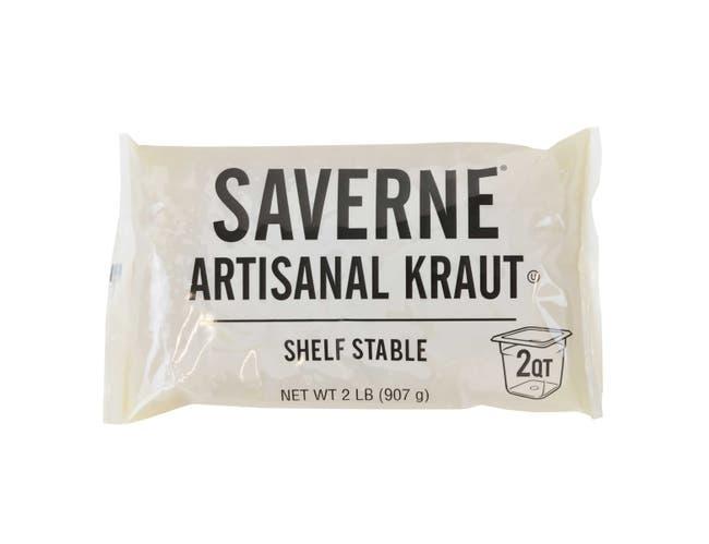 Saverne Shelf Stable Sauerkraut, 2 Pound -- 12 per case.
