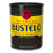 Bustelo Supreme Espresso Style Ground Coffee, 10 Ounce Can -- 12 per case.