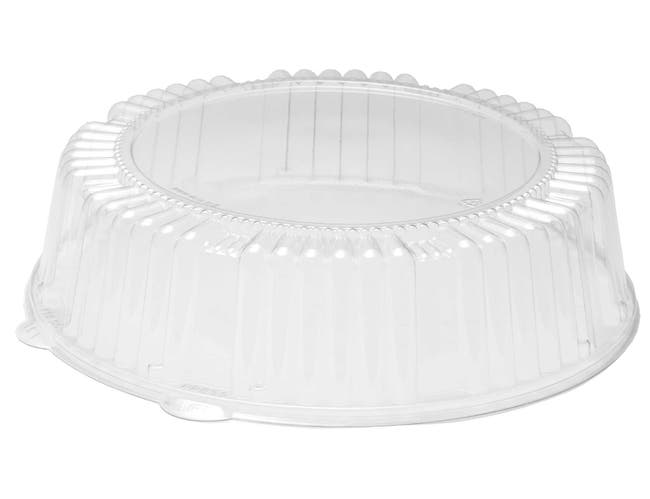 WNA Caterline Standard Height Round PET Dome Lid Only -- 25 per case.