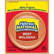 Hebrew National Beef Bologna, 8 Ounce -- 12 per case.
