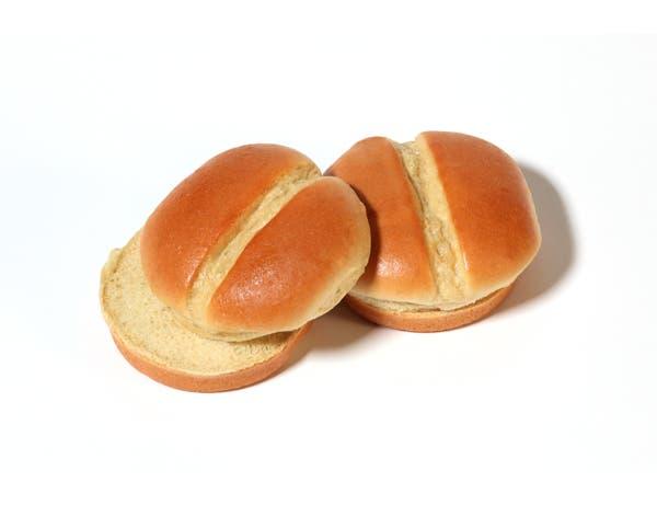 Rotellas Brioche Bun, 4 inch - 8 count per pack -- 6 packs per case.