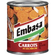 Embassa Carrot in  Escabeche - 26 oz. can, 12 cans per case