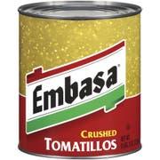Embassa  Crushed Tomatillos - no. 10 can, 6 cans per case
