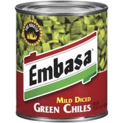 Embasa Diced Green Chile Peppers, 27 Ounce -- 12 Case