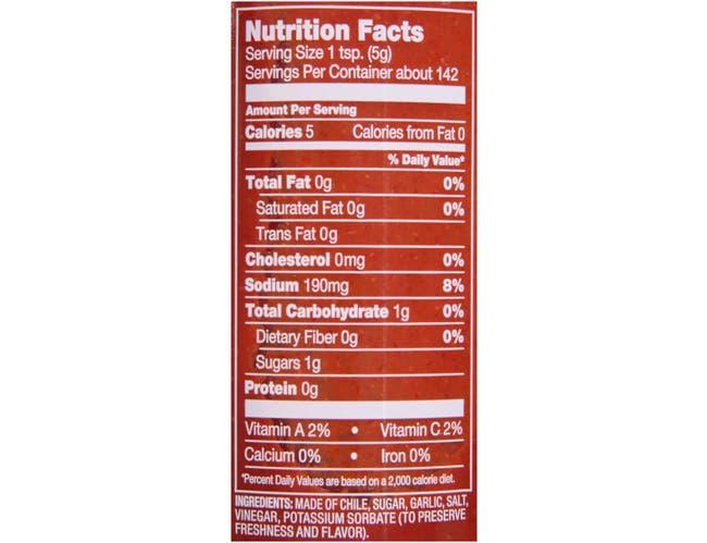 Texas Pete Sriracha Cha Sauce, 28 Ounce -- 12 per case.