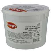 Baker and Baker Karps Scoop N Bake New York Cinnamon Muffin Batter, 9 Pound -- 2 per case.