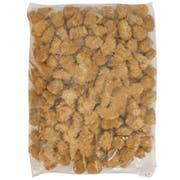 Gold Kist Whole Grain Breaded Popcorn Shaped Dark Chicken Patty, 5 Pound -- 6 per case