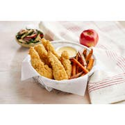 Just Bare Fully Cooked Breaded Portioned Chicken Breast, 5 Pound -- 2 per case