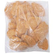 Just Bare Breaded Boneless Skinless Chicken Fillet Fritters, 5 Pound -- 2 per case