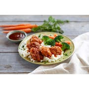 Just Bare Skinless Chicken Breast Chunk with Rib Meat, 5 Pound -- 6 per case