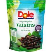Dole Seedless Raisin, 12 Ounce Pouch -- 12 per case.